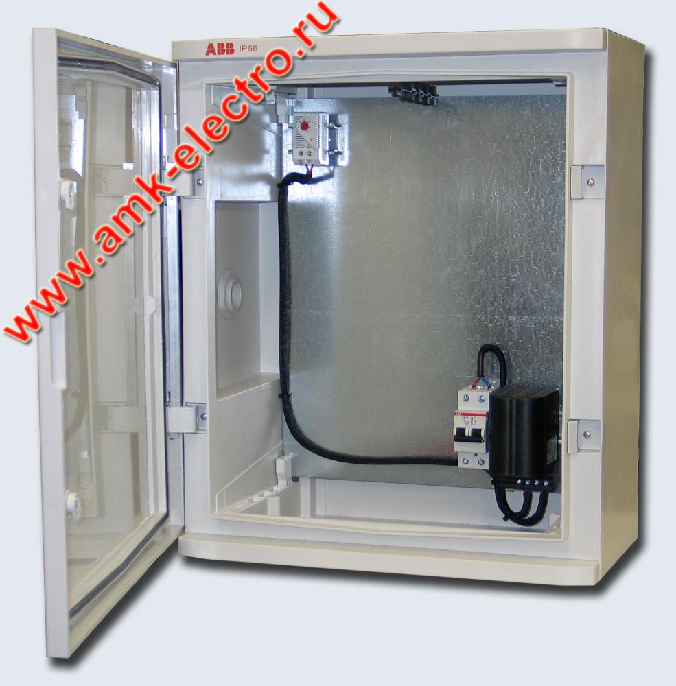 Термошкаф ТШ-2 АВВ | АМК-электро
